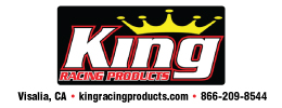 King Racing Products Josh Ford Motorsports 2016 Sponsor