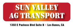 Sun Valley Ag Transport Josh Ford Motorsports 2016 Sponsor